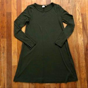 Gap Forest Green Sweater Dress